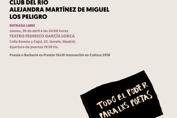 Poesía o Barbaríe 2018