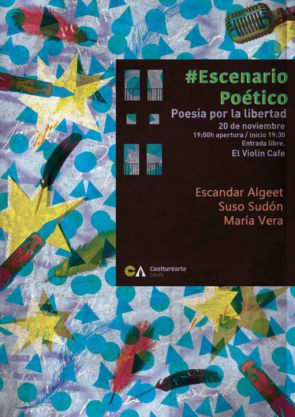Escenario poético: #PoesíaPorLaLibertad